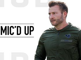 Watch: Mic'd Up: McVay calls for 'Halle Berry' audible | Week 10