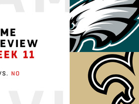 Watch: Eagles vs. Saints Week 11 preview | NFL Playbook