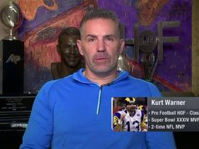 Watch: Kurt Warner breaks down how Rams can stop Patrick Mahomes