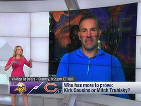 Watch: Kirk Cousins or Mitchell Trubisky: Which QB has more to prove
