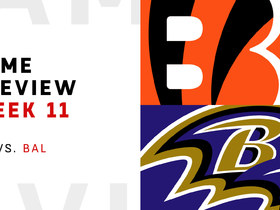 Watch: Bengals vs. Ravens Week 11 preview | NFL Playbook