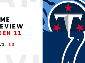 Watch: Titans vs. Colts Week 11 preview | NFL Playbook