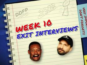 Watch: DDFP: Willie McGinest Week 10 Exit Interview