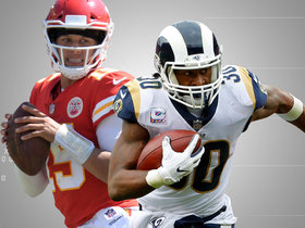 Watch: A battle of MVP favorites: Previewing Mahomes vs. Gurley