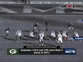 Watch: NFL-N-Motion: Why it's so difficult to stop the Seahawks' running game