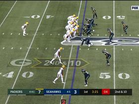 Watch: Can't-Miss Play: Rodgers launches 54-yard TD strike to Tonyan