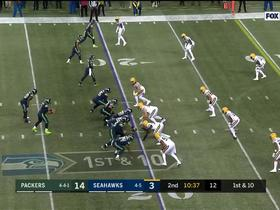 Watch: Penny bursts through Packers' defense in red zone