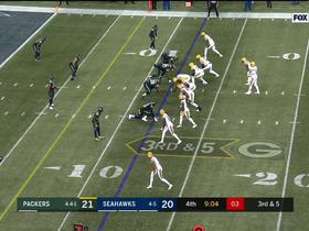 Watch: Green's first NFL sack gives Seahawks critical red zone stop