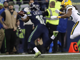Watch: Lockett hauls in diving fingertip grab for 34 yards