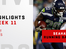 Watch: Best runs by 'Hawks RBs on 'TNF' | Week 11