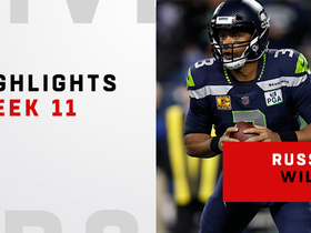 Watch: Best plays from Wilson's 225-yard night | Week 11