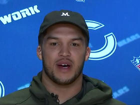 Watch: Trey Burton: I am successful because of the guys around me