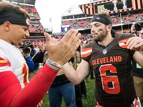 Watch: Garafolo: Browns want head coach who can turn Mayfield into Mahomes