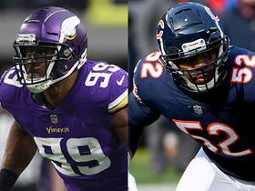 Watch: Who will get more sacks Sunday night: Danielle Hunter or Khalil Mack?