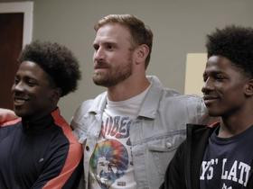 Watch: Chris Long strives to make an impact on education in Philadelphia