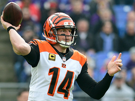 Watch: Dalton drops pass in the bucket to Boyd for 29 yards