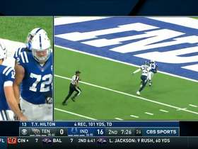Watch: Can't-Miss-Plays: Luck launches it to Hilton for HUGE TD toss