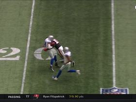 Watch: Julio Jones GREAT defensive play saves would-be INT