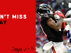 Watch: Can't-Miss Play: Ryan goes for it all and Julio delivers with TD