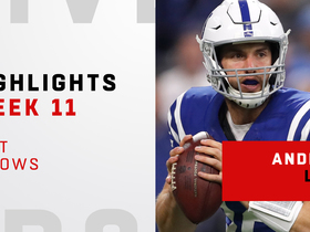 Watch: Andrew Luck's best throws against the Titans | Week 11