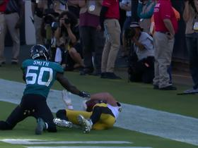 Watch: Can't-Miss Play: McDonald snags TD catch over two Jags' defenders