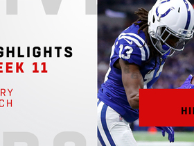 Watch: Every catch from Hilton's 155-yard game | Week 11