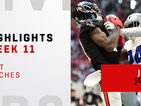 Watch: Best catches from Julio Jones' big day | Week 11