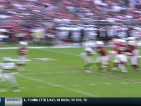 Watch: Rosen rips it to Fitzgerald for an 18-yard TD