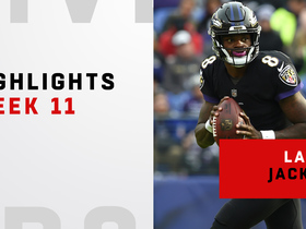 Watch: Best plays from Lamar Jackson's first NFL start | Week 11