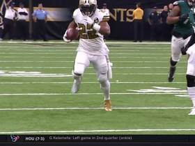 Watch: Ingram breaks free on 38-yard run