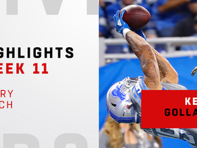 Watch: Every catch from Kenny Golladay's 113-yard day | Week 11