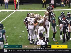 Watch: Brees threads the needle to Smith for incredible TD connection