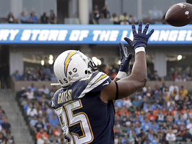 Watch: Rivers floats it to Gates on corner route for a TD