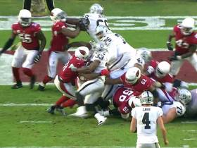 Watch: Cards' D stuffs DeAndre Washington for big stop on third-and-goal