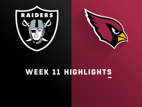Watch: Raiders vs. Cardinals highlights | Week 11