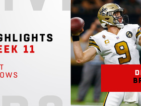 Watch: Brees' best throws from 363-yard game | Week 11