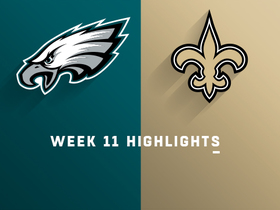 Watch: Eagles vs. Saints highlights | Week 11