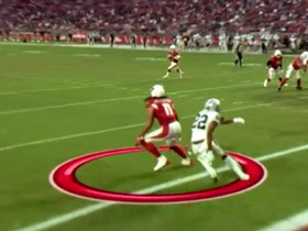 Watch: Go inside Larry Fitzgerald's helmet as he hauls in the 5-yard TD | True View