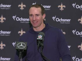 Watch: Brees reminisces what football during the holidays mean to him