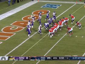Watch: Trubisky lofts perfect two-point conversion pass to Shaheen