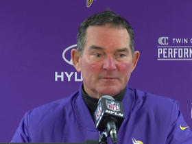 Watch: Mike Zimmer: Either they're not listening or don't care
