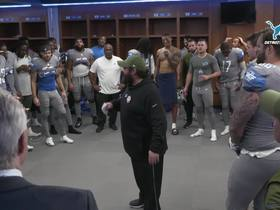 Watch: Patricia gets fired up after win over Panthers