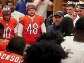 Watch: Bears erupt in 'Parkey, Parkey' chant in locker room after win