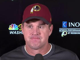 Watch: Jay Gruden: Alex Smith's surgery went 'well', expects full recovery