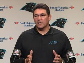 Watch: Ron Rivera explains why Panthers went for two-point conversion vs. Lions