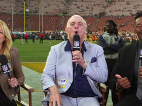 Watch: Woo! Ric Flair talks Chiefs vs. Rams on 'MNF'
