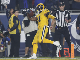 Watch: Goff drops it in the bucket to Everett for go-ahead TD