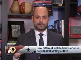 Watch: What will Colt McCoy bring to Redskins' offense?