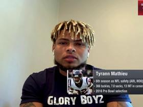 Watch: Tyrann Mathieu: Rams-Chiefs on 'MNF' was 'tough to watch' as a defender