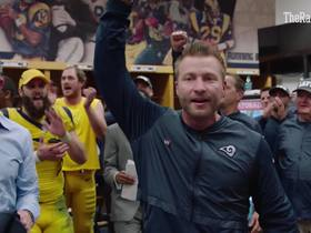 Watch: McVay gets pumped up after Week 11 win
